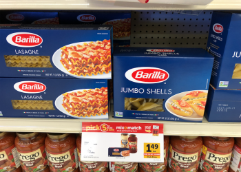 New Barilla Coupons and Sales – Pay Just $1.24 for Lasagna Noodles and Shells and $1.29 for Sauce at Safeway
