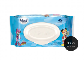 Cottonelle Flushable Wipes for Kids = $0.99 After the Deal at Safeway