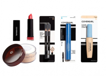 HOT Deals on CoverGirl Makeup With $3.00 off Coupons and Buy 2, Save $4 Promo at Safeway   Save 80 – 100%