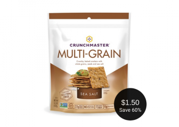 Crunchmaster Coupons = $1.50 for Gluten-Free Crackers at Safeway