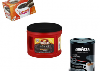 Folgers, LavAzza, Dunkin' Donuts, Newman's Organic and Green Mountain Coffees Just $4.99 at Safeway
