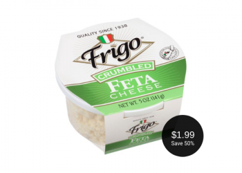 Frigo Feta Cheese for $1.99 After the Coupon & Sale at Safeway (Save 50%)
