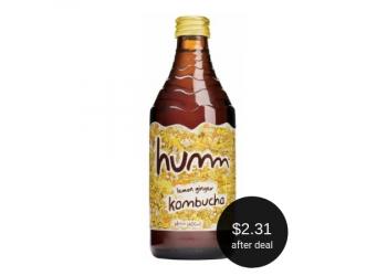 Humm Kombucha for as Low as $2.31 at Safeway