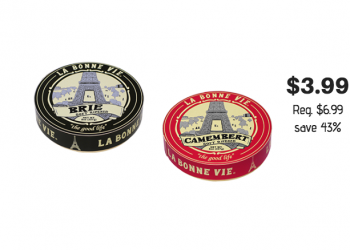 La Bonne Vie Brie or Camembert Cheese Just $3.99 With Coupon at Safeway