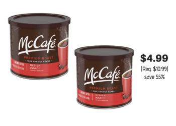 McCafe Coffee 24 oz Just $4.99 at Safeway Through 12/11