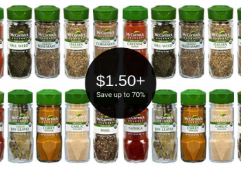 McCormick Gourmet Coupon = $1.50+ for Spices at Safeway