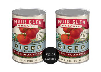Muir Glen Coupon = as Low as $0.25 for Organic Canned Tomatoes at Safeway