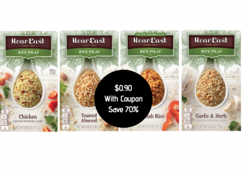 Near East Rice Pilaf Just $.90 With New Coupon and Sale at Safeway (Reg. $2.99)