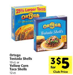 Ortega Taco Sauce