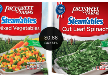 PictSweet Farms Frozen Veggies for $0.88 at Safeway