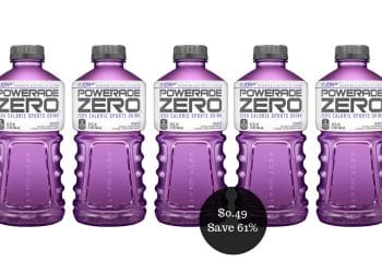 Powerade Coupon = $0.49 a Bottle at Safeway