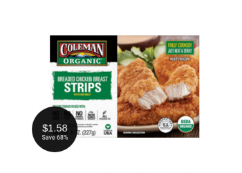 Coleman Organic Chicken Deal = as Low as $1.58 at Safeway