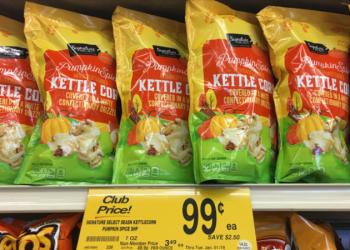 Signature SELECT Pumpkin Spice Kettle Corn = $0.99 (Save 72% at Safeway)
