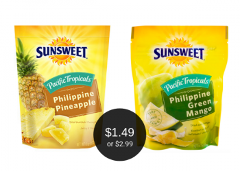 Sunsweet Coupon = $1.49 for Pineapple or $2.99 for Mango