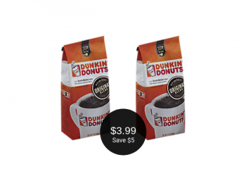 NEW Dunkin' Donuts Coffee Coupon Deal = $3.99 at Safeway (Save $5)