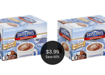 Swiss Miss K-Cups 12 Ct. for $3.99 at Safeway (Save $6)