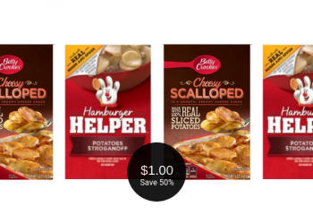 Betty Crocker Products on Sale = $1.00 for Helper or Potatoes at Safeway