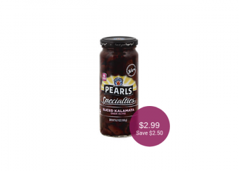 Pearls Specialties Greek Olives for as Low as $2.99 at Safeway