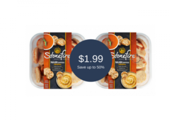 Stonefire Naan Coupon & Sale = $1.99 at Safeway