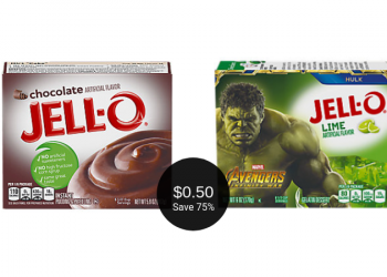 Jell-O Coupon = $0.50 for Pudding or Gelatin at Safeway