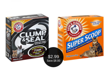 Arm & Hammer Litter Coupon = $2.99 at Safeway