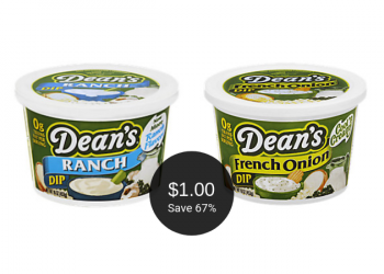 Dean's Dip Deal = as Low as $1.00 (Save up to 67%)