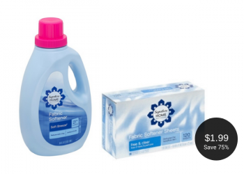 Signature HOME Fabric Softener Liquid or Sheets – Buy 1, Get 1 FREE at Safeway