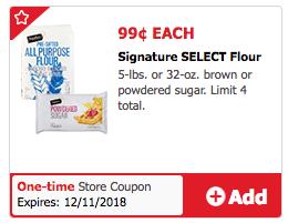 Signature SELECT Flour Coupon