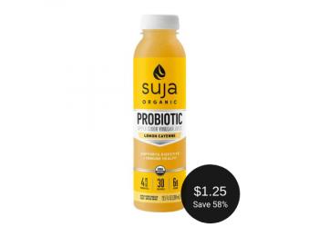 Organic Suja Probiotic Apple Cider Vinegar Juice = as Low as $1.25 at Safeway