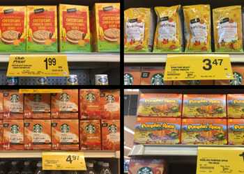 Last Day of Autumn, Save BIG on Fall Flavors at Safeway