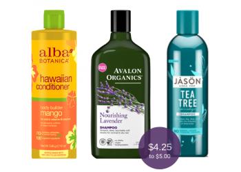 Organic Shampoo & Conditioner Savings – Buy 1, Get 1 FREE at Safeway