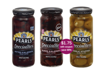 Pearls Specialties Greek Olives for as Low as $1.75 at Safeway