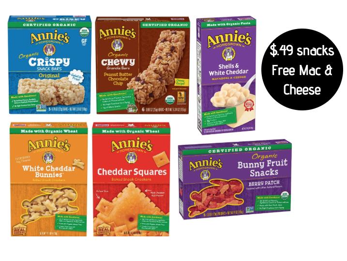 Annie's Organic Snacks Deal at Safeway