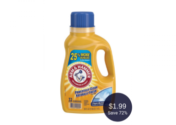 Arm & Hammer Laundry Detergent for $1.99 at Safeway (Save 72%)