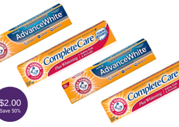 Arm & Hammer Toothpaste Coupons & Sale, Pay Just $2.00 at Safeway