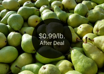 Bartlett Pears Deal = as Low as $0.99 Per Pound at Safeway