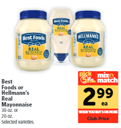 Best Foods Mayo coupon