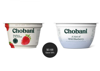 Chobani Coupon & Sale = $.68 Per Cup at Safeway