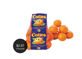 Cuties Clementines for $2.87 at Safeway (3 Pound Bags)