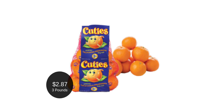 Cuties Clementines