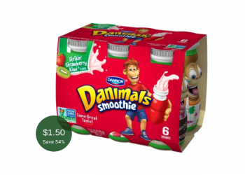 Danimals Smoothies for as Low as $1.50 at Safeway