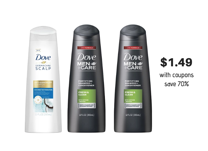 Dove Men+Care Coupons