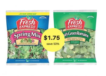 Fresh Express Salad Kits Buy 1, Get 1 FREE at Safeway