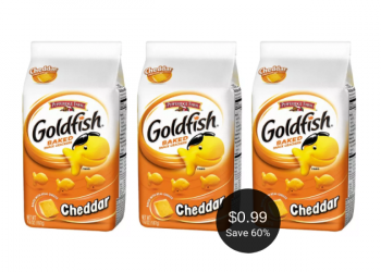 Goldfish Crackers on Sale for $0.99 at Safeway