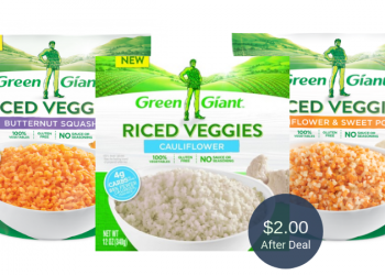Green Giant Riced Veggies Coupon and Sale, Pay Just $2.00 at Safeway