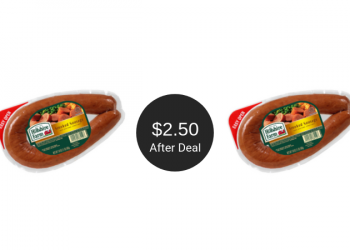 Hillshire Farm Dinner Sausage Coupon = $2.50 at Safeway