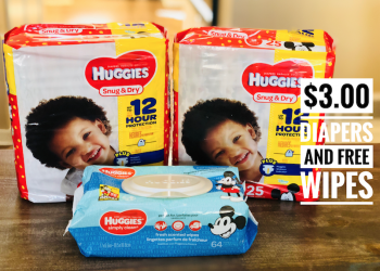 Huggies Diapers as low as $3.00 a Pack With Coupon Stack at Safeway