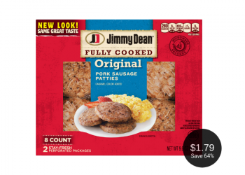 Jimmy Dean Breakfast Sausage for as Low as $1.79 at Safeway After Deal