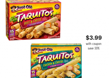 New Jose Ole Coupon – Get Taquitos for Just $3.99 at Safeway