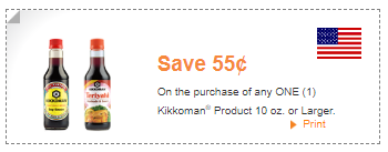 Kikkoman coupons